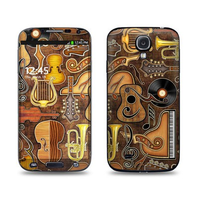 Samsung Galaxy S4 Skin - Music Elements