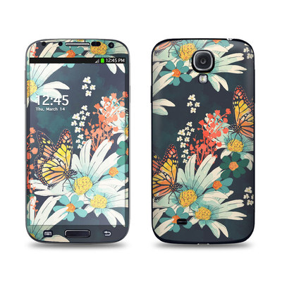 Samsung Galaxy S4 Skin - Monarch Grove