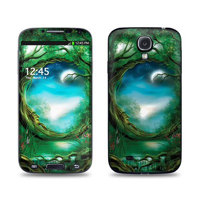 Samsung Galaxy S4 Skin - Moon Tree