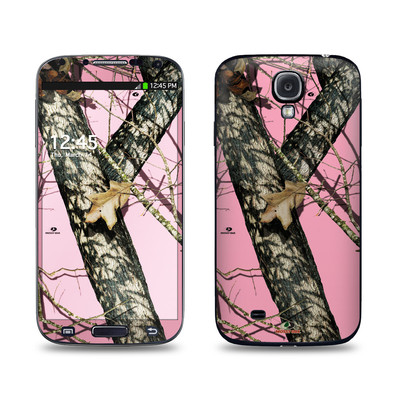 Samsung Galaxy S4 Skin - Break-Up Pink