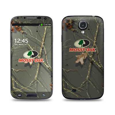 Samsung Galaxy S4 Skin - Break-Up Lifestyles Evergreen
