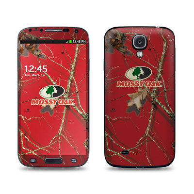 Samsung Galaxy S4 Skin - Break-Up Lifestyles Red Oak