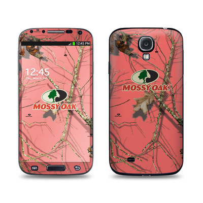 Samsung Galaxy S4 Skin - Break-Up Lifestyles Salmon