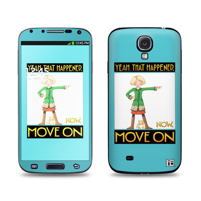Samsung Galaxy S4 Skin - Move On