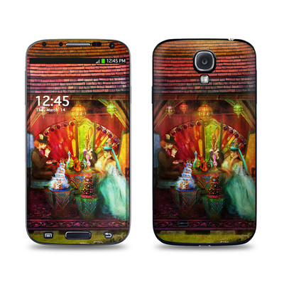Samsung Galaxy S4 Skin - A Mad Tea Party