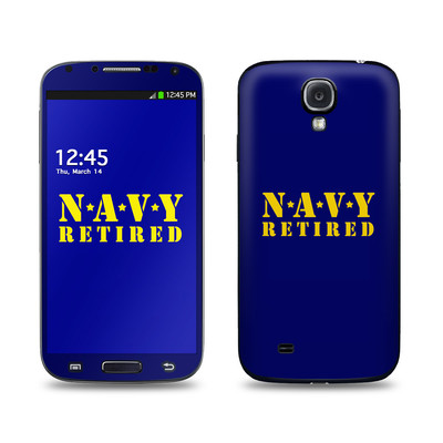 Samsung Galaxy S4 Skin - Navy Retired