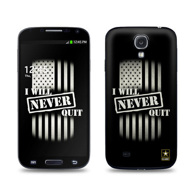 Samsung Galaxy S4 Skin - Never Quit