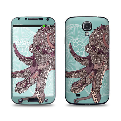 Samsung Galaxy S4 Skin - Octopus Bloom