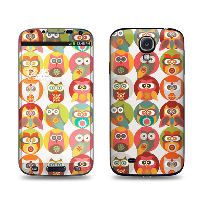 Samsung Galaxy S4 Skin - Owls Family
