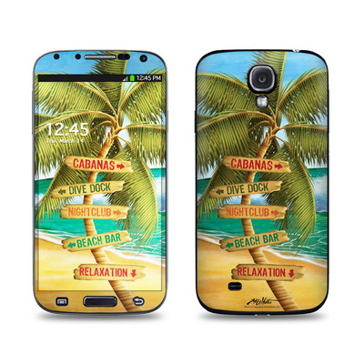 Samsung Galaxy S4 Skin - Palm Signs