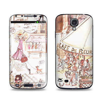 Samsung Galaxy S4 Skin - Paris Makes Me Happy