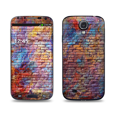 Samsung Galaxy S4 Skin - Painted Brick