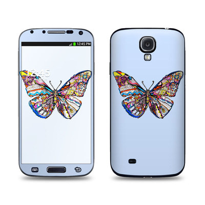 Samsung Galaxy S4 Skin - Pieced Butterfly