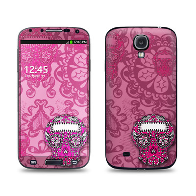 Samsung Galaxy S4 Skin - Pink Lace