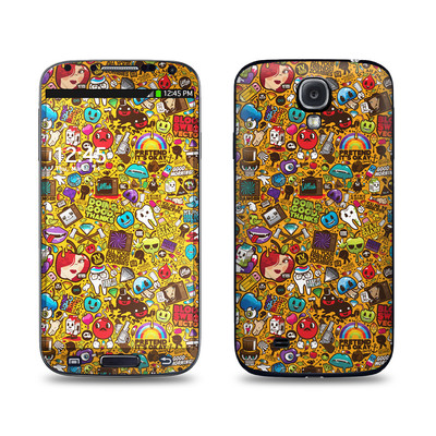 Samsung Galaxy S4 Skin - Psychedelic