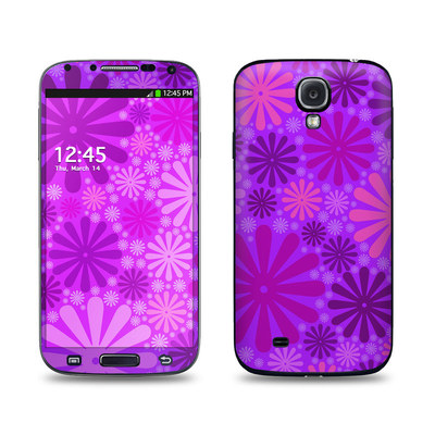 Samsung Galaxy S4 Skin - Purple Punch