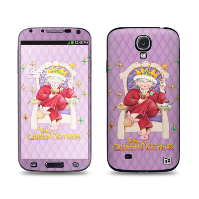 Samsung Galaxy S4 Skin - Queen Mother