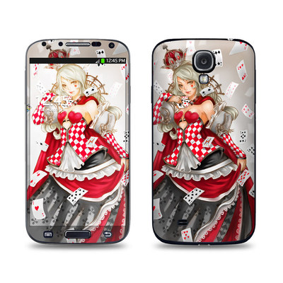 Samsung Galaxy S4 Skin - Queen Of Cards