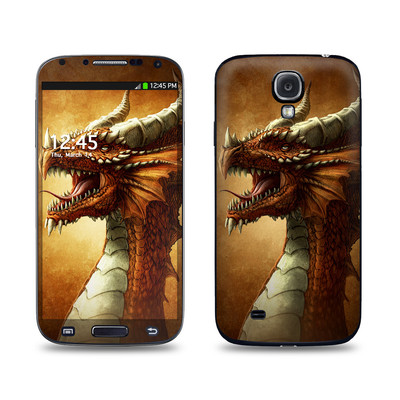 Samsung Galaxy S4 Skin - Red Dragon