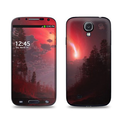 Samsung Galaxy S4 Skin - Red Harbinger