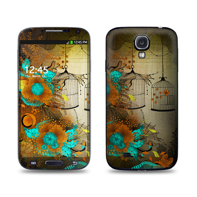 Samsung Galaxy S4 Skin - Rusty Lace