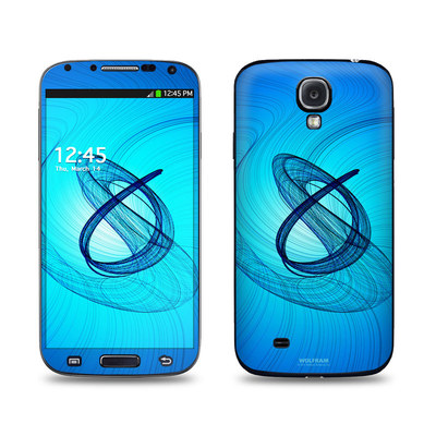 Samsung Galaxy S4 Skin - Rotating Swirls