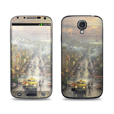 Samsung Galaxy S4 Skin - Heart of San Francisco