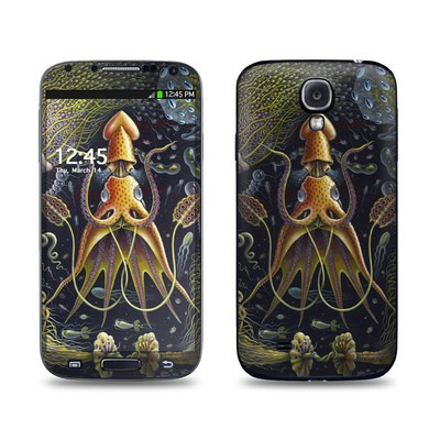 Samsung Galaxy S4 Skin - Sea Flowers