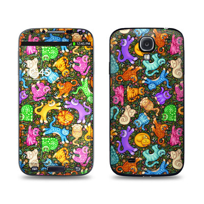 Samsung Galaxy S4 Skin - Sew Catty