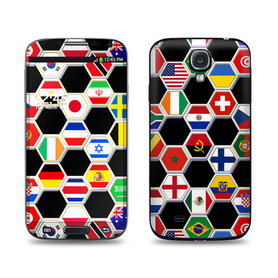 Samsung Galaxy S4 Skin - Soccer Flags