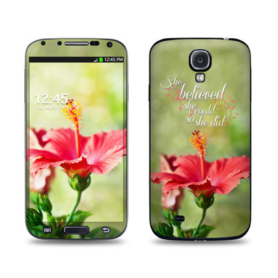 Samsung Galaxy S4 Skin - She Believed