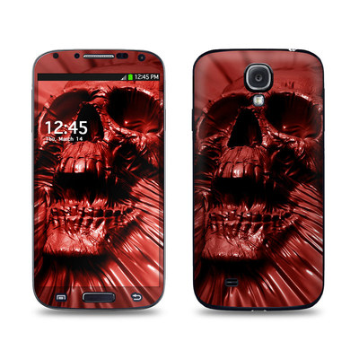 Samsung Galaxy S4 Skin - Skull Blood