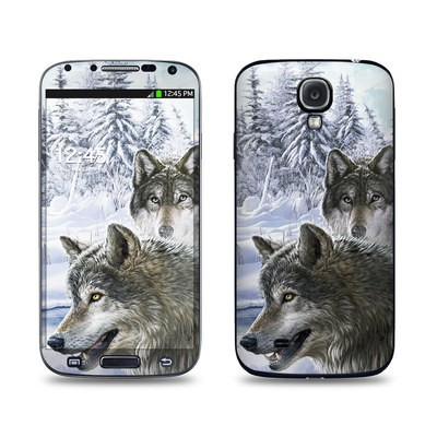 Samsung Galaxy S4 Skin - Snow Wolves