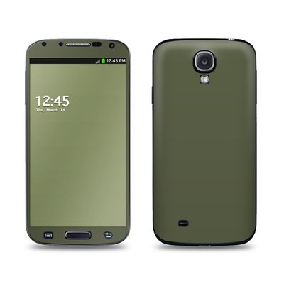 Samsung Galaxy S4 Skin - Solid State Olive Drab