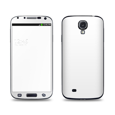 Samsung Galaxy S4 Skin - Solid State White