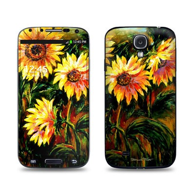 Samsung Galaxy S4 Skin - Sunflower Sunshine
