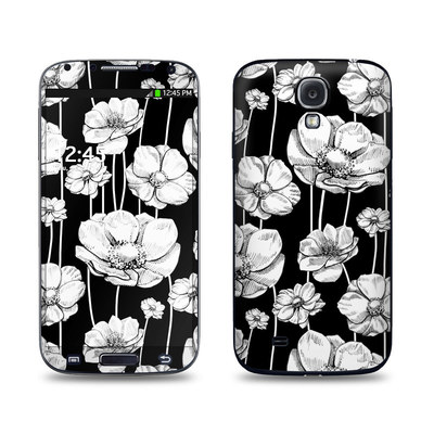 Samsung Galaxy S4 Skin - Striped Blooms