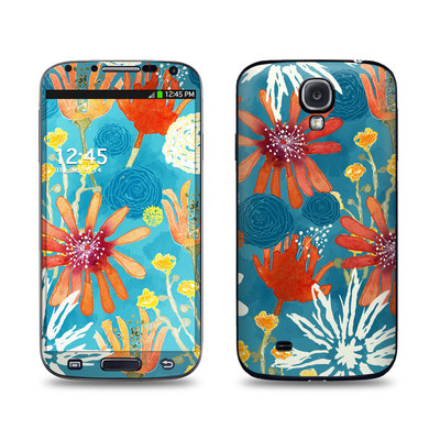 Samsung Galaxy S4 Skin - Sunbaked Blooms