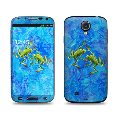 Samsung Galaxy S4 Skin - Tiger Frogs
