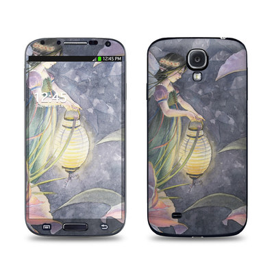 Samsung Galaxy S4 Skin - Twilight Lilies