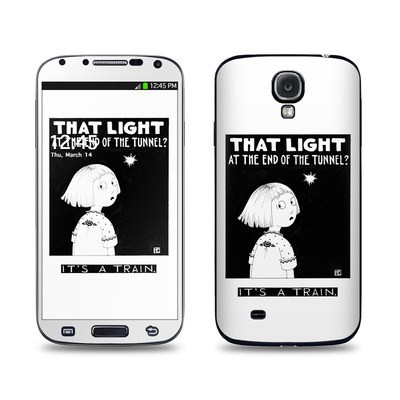 Samsung Galaxy S4 Skin - Train Tunnel