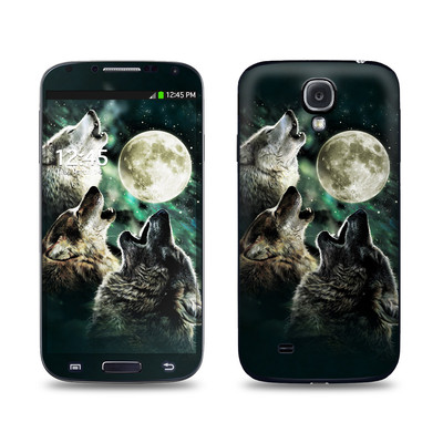 Samsung Galaxy S4 Skin - Three Wolf Moon