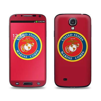 Samsung Galaxy S4 Skin - USMC Red