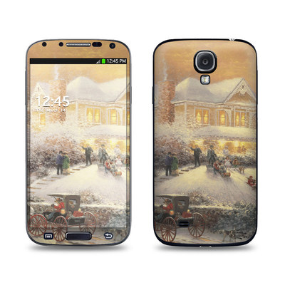 Samsung Galaxy S4 Skin - Victorian Christmas