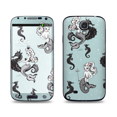 Samsung Galaxy S4 Skin - Vintage Mermaid