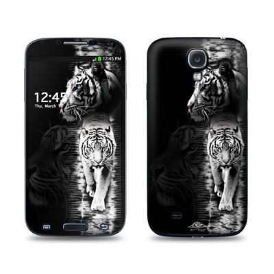 Samsung Galaxy S4 Skin - White Tiger