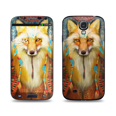 Samsung Galaxy S4 Skin - Wise Fox