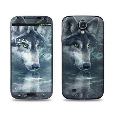 Samsung Galaxy S4 Skin - Wolf Reflection