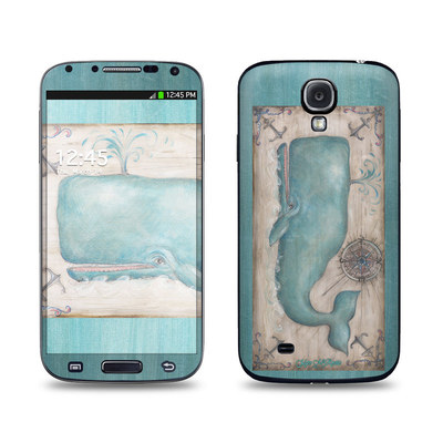 Samsung Galaxy S4 Skin - Whale Watch