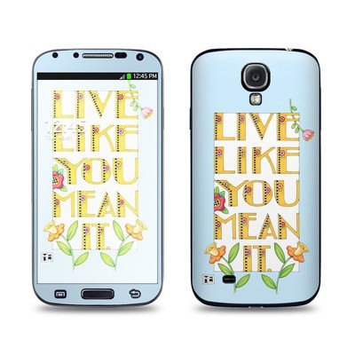 Samsung Galaxy S4 Skin - Mean It